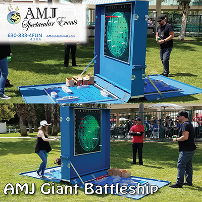 College Event Rentals from AMJ Spectacular Events Party Rentals Inflatables, Arcade Games, Concessions, Tables, Chairs & Tents